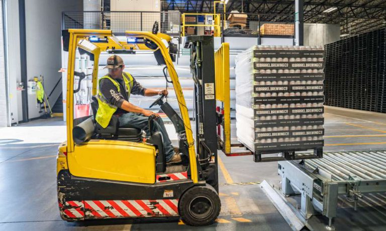 What is a forklift battery?