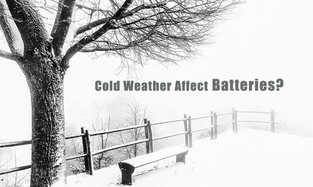 Why does cold weather affect batteries?