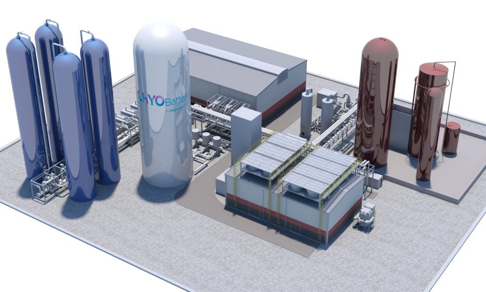 Highview Power Cryogenic Energy Storage Facilities