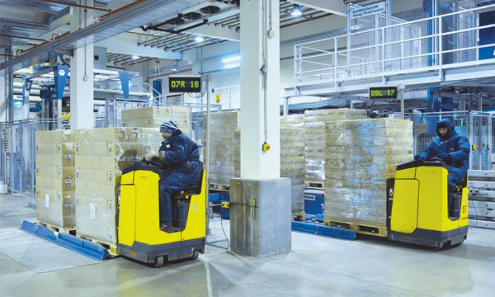 Cold Storage Warehouse Forklift