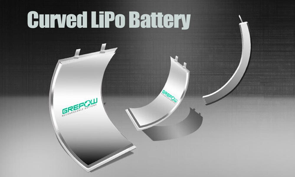 Curved Lithium Polymer Battery