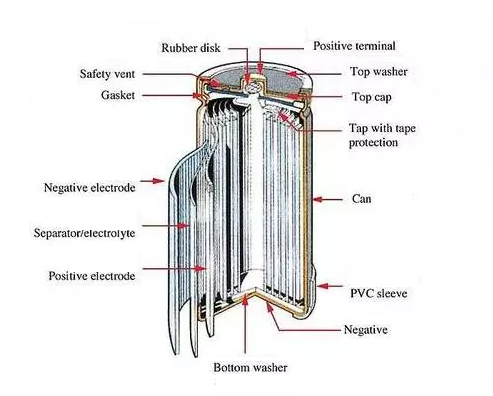Structure of Cylindrical Cell