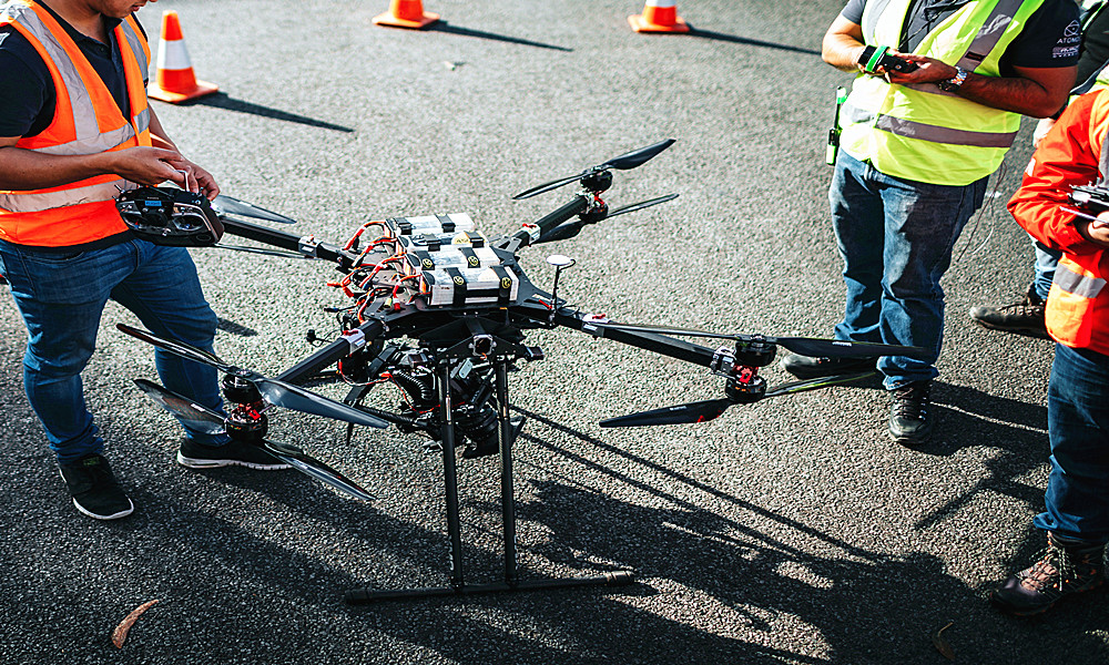 Battery Experts – High capacity formulations for mapping drone battery
