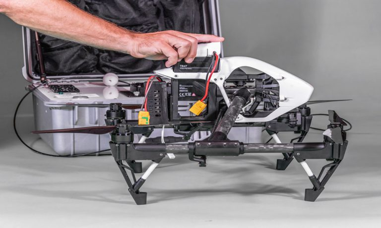 How long does the intelligent flight battery last on your drone?