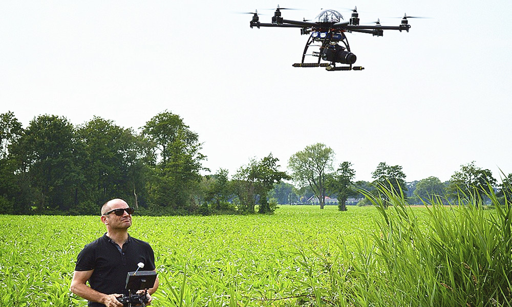 How to use drones to extend life?