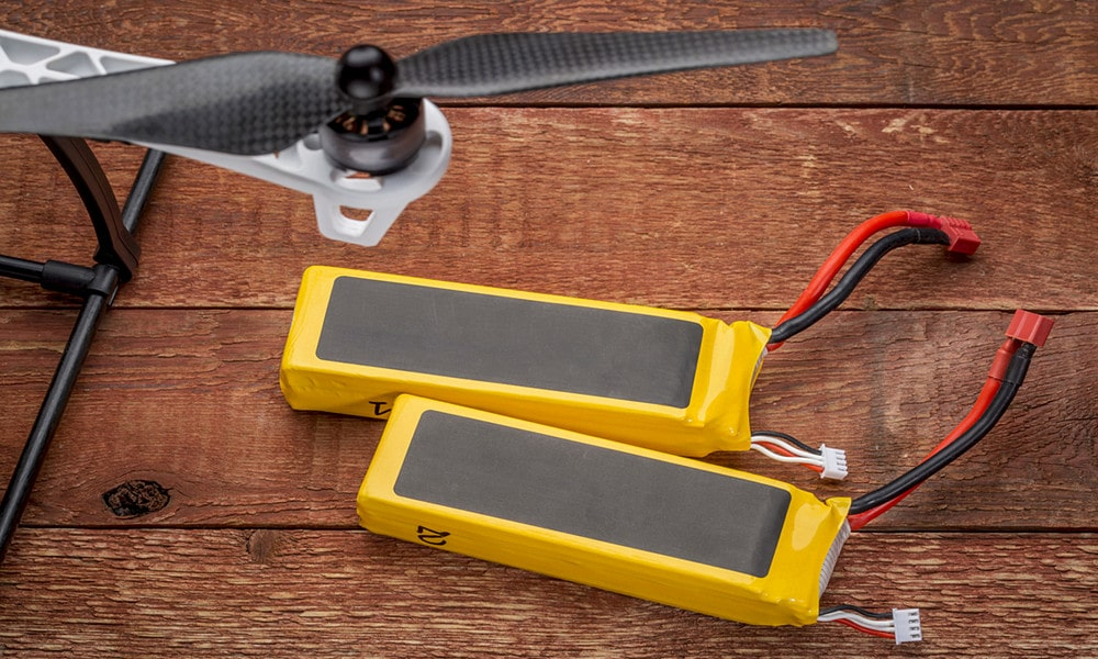 How can I make my drone camera battery last longer?