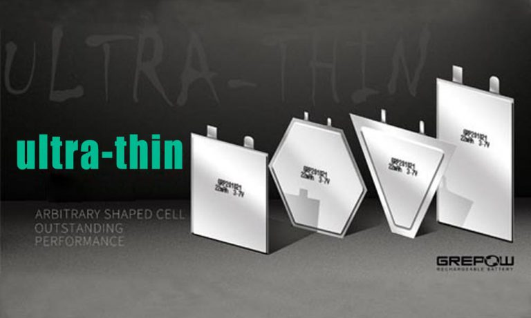Ultra-Thin Lithium Polymer Battery for Thinnest Application