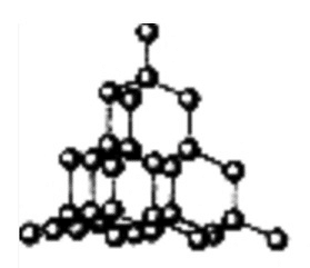 diamond material structure