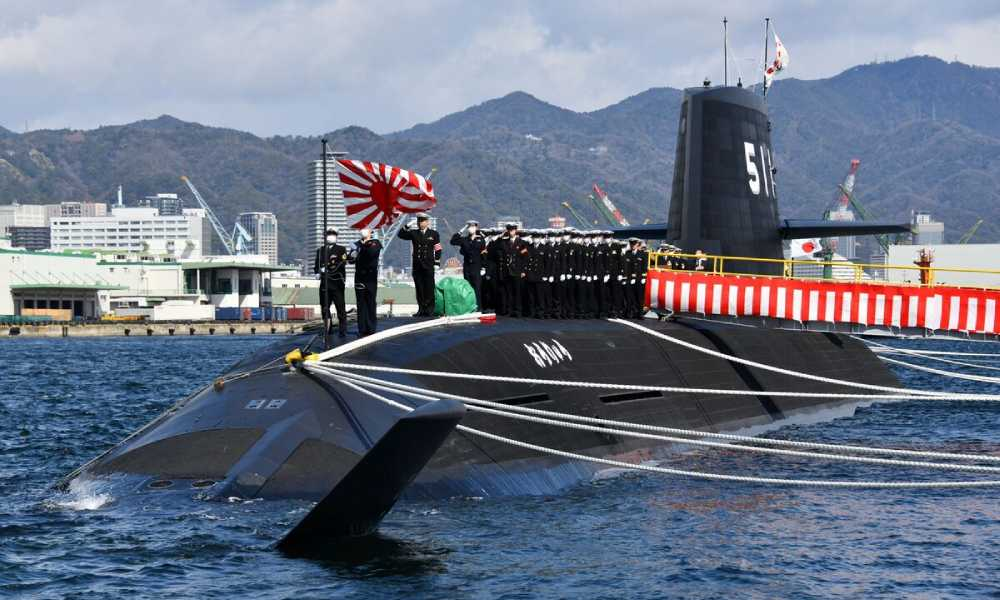 Japan commissions its first submarine running on lithium-ion batteries