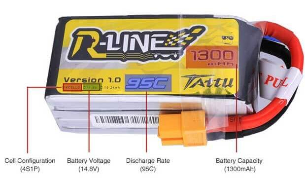 Tattu r-line Lipo Battery Parameters