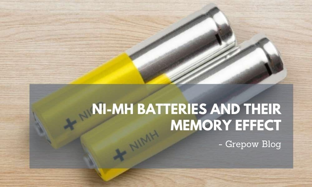Ni-MH Batteries and their memory effect