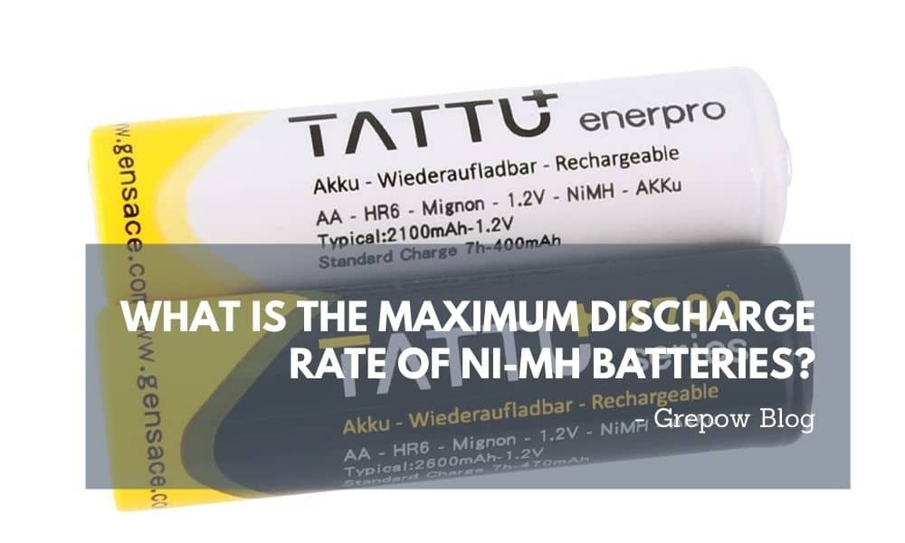 What is the Maximum Discharge Rate of Ni-MH Batteries?