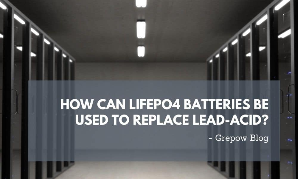 How can LiFePO4 batteries be used to replace lead-acid?