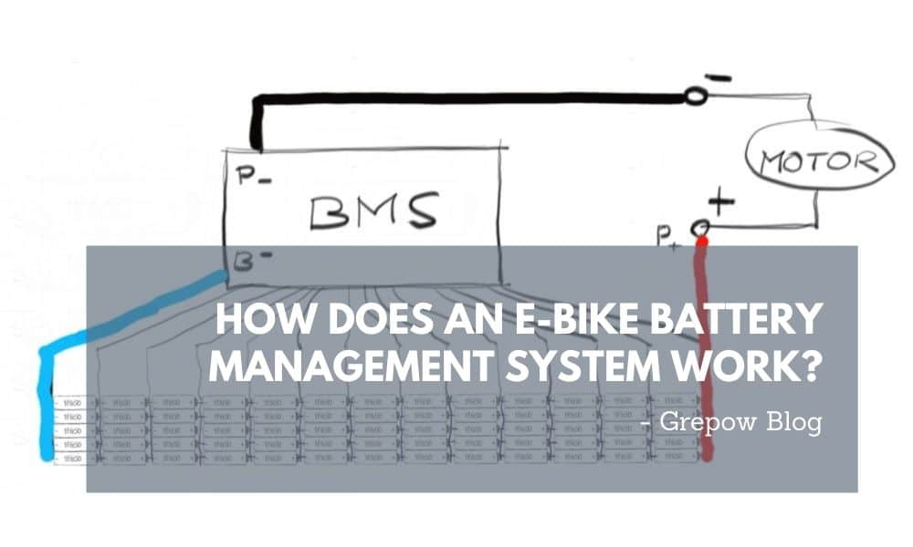 How does an e-bike battery management system work