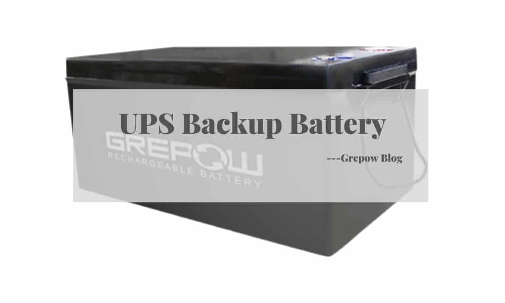 Grepow UPS Backup Battery