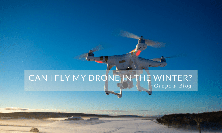 Can I Fly My Drone in the Winter?
