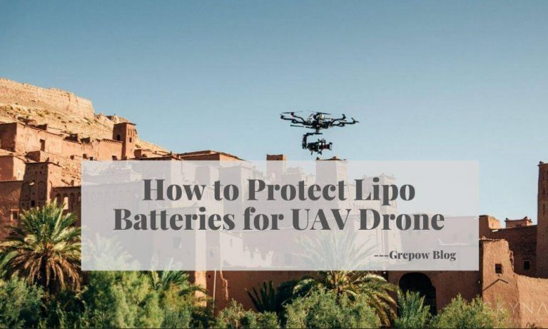 How to Protect Lipo Batteries for UAV Drone?