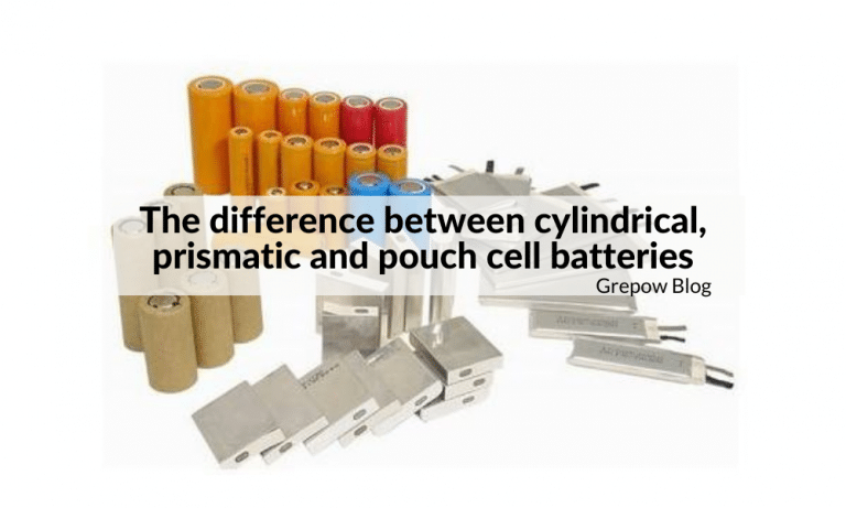 The difference between cylindrical, prismatic and pouch cell batteries