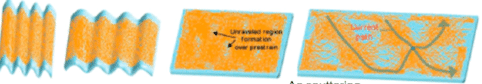 Figure 7. Reticulated silver nanowire electrode