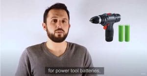 When using NiMH or 18650 batteries for power tool batteries, a lot of space is wasted inside the battery pack | Grepow