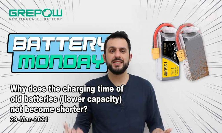 Why does the charging time of old batteries ( lower capacity) not become shorter? | Battery Monday