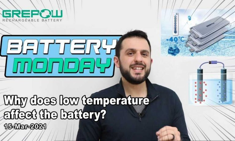 Why does low temperature affect the battery? | Battery Monday