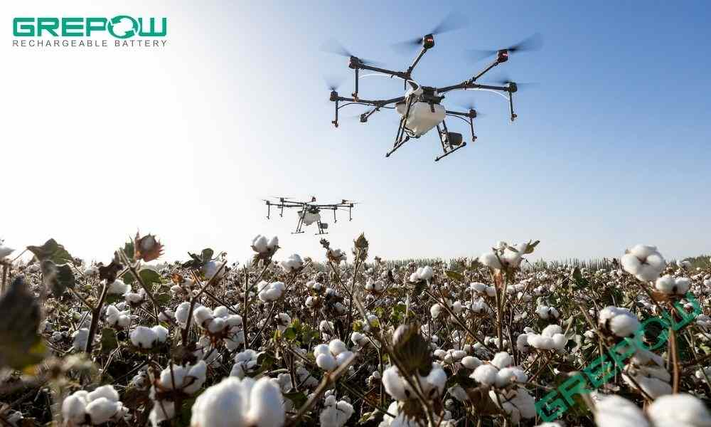 UAV's Battery- Revolutionizing the Future of Agriculture