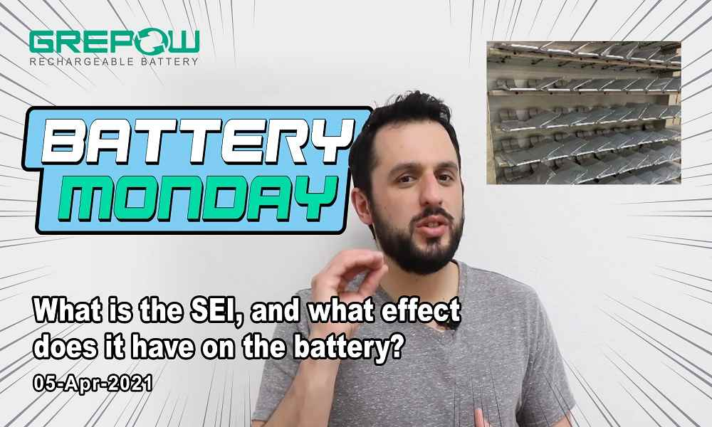 What is the SEI, and what effect does it have on the battery? | Battery Monday