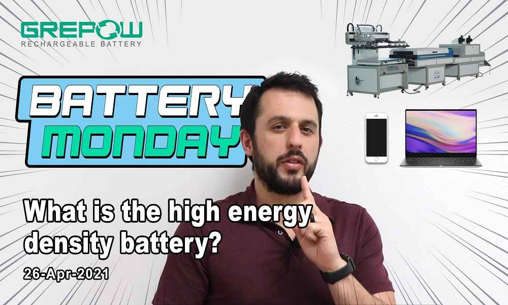 What is the high energy density battery? | Battery Monday