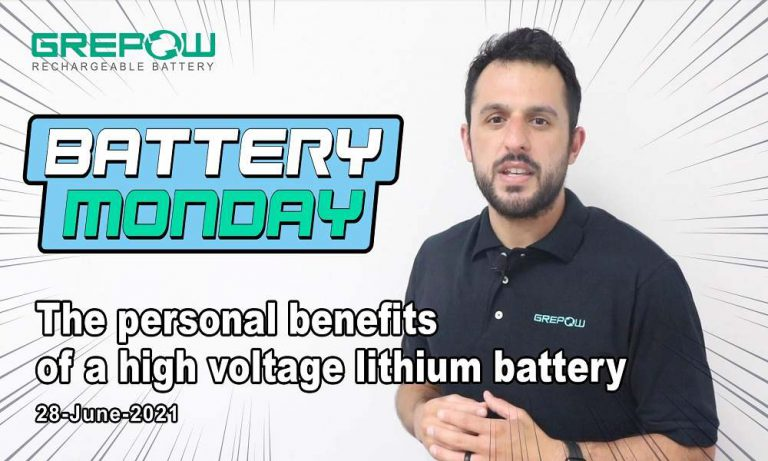 The personal benefits of a high voltage lithium battery | Battery Monday