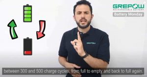 battery cycle-full charge to empty then full charge-battery monday-grepow