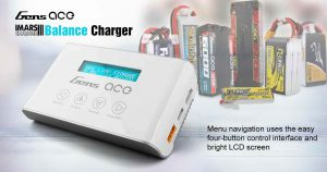 gensace imar three-lipo battery charger- storage function-protect lipo rc battery