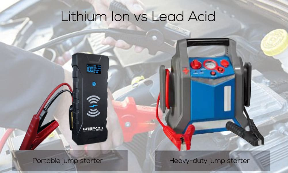 Lithium Ion Jump Starter vs Lead Acid – Which is Right for You?