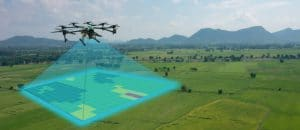 agricultural spaying drone