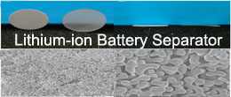 Battery material - lithium ion battery separator