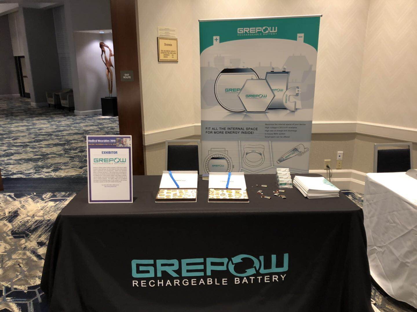 Grepow Medical Bttery in Medical Wearables 2019