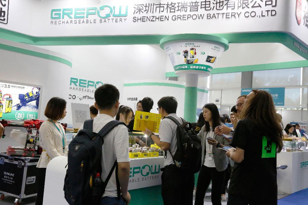 Grepow on The 4th Shenzhen International UAV Exhibition