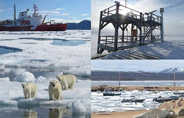 Ausrüstung für polare Forschung