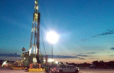 Beleuchtungssysteme für Ölfelder