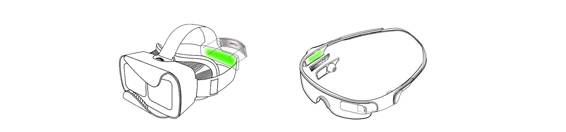vr battery smart glasses battery