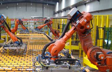 Industrial robot battery