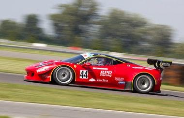 Performance racing car battery