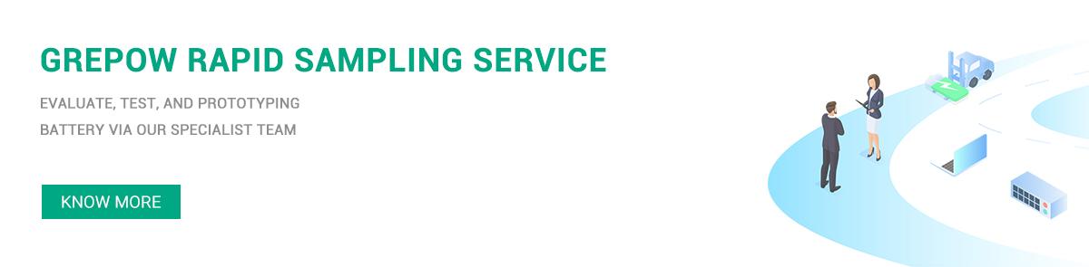 Grepow Rapid Sampling Service Banner
