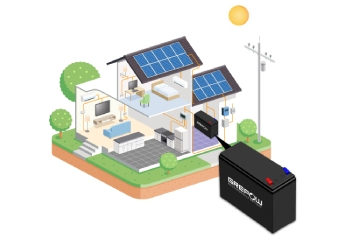 Grepow LiFePO4 battery for home solar energy storage