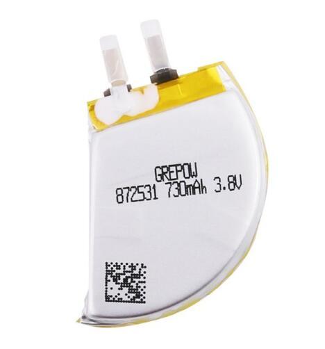 Grepow 730mAh 3.85V Fan type Shaped Lipo Battery 8725031