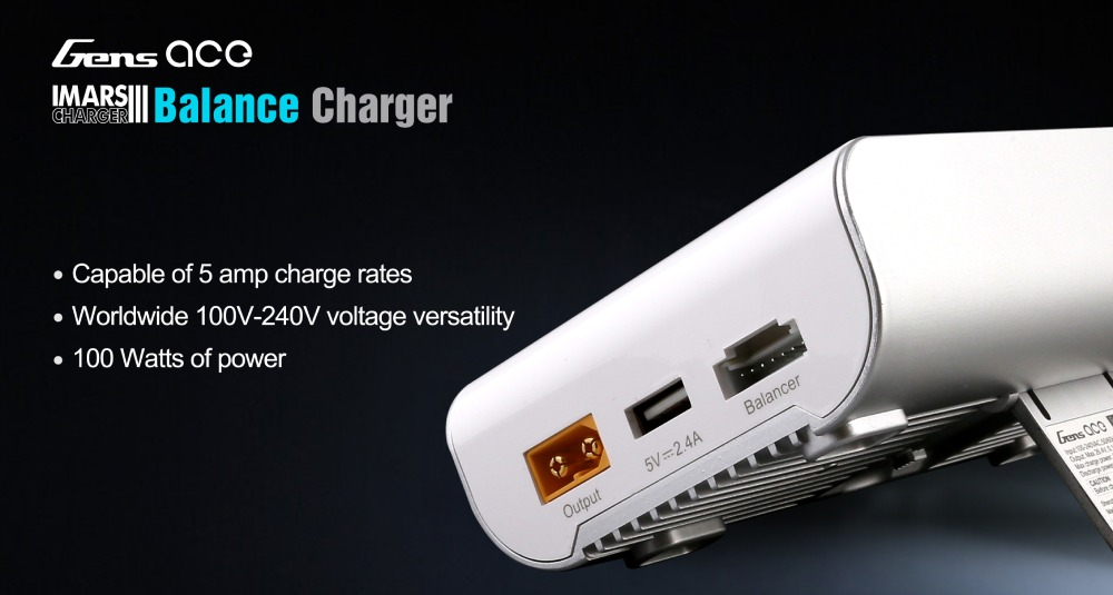 New Product Release | 100W Balance Battery Charger