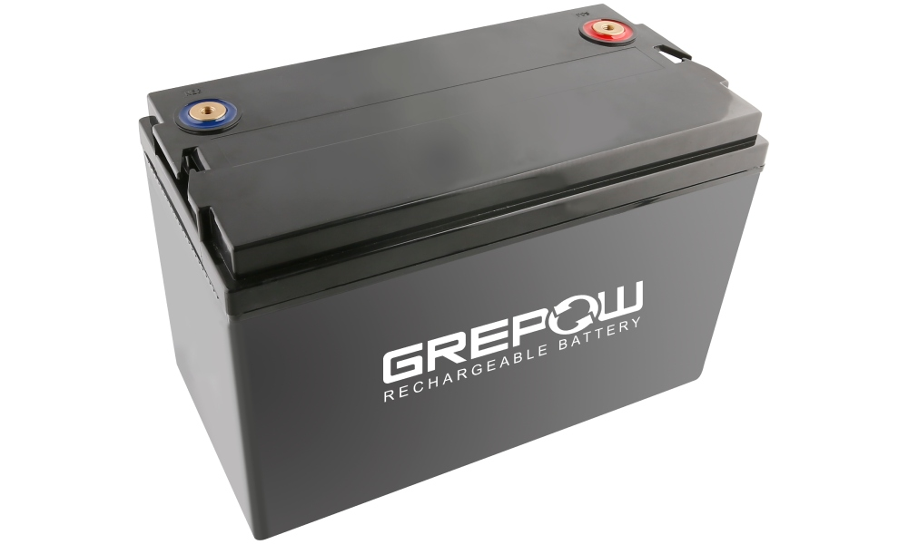 Grepow 24V 50Ah LiFePO4 battery pack
