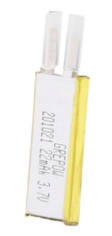 Grepow 22mAh 3.7V Rectangle Shaped Lipo Battery 2010021