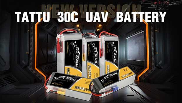 Tattu 30C 6S UAV Drone Battery