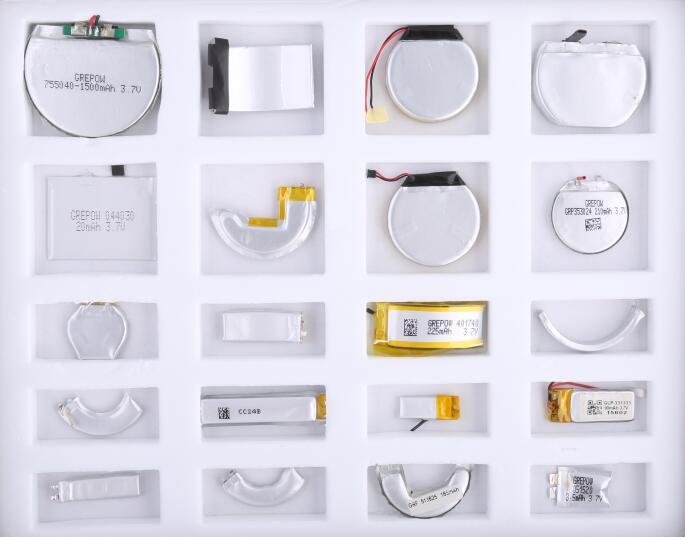 Custom-shaped Batteries